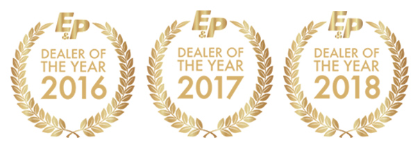 E&P Hydraulics Dealer of the Year 2016 2017 2018
