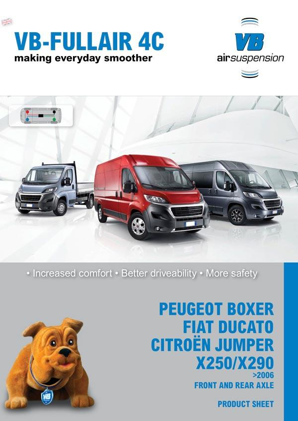 boxer ducato jumper x250 fullair
